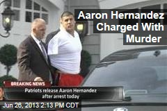 Aaron Hernandez Charged With Murder