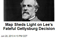 Map Sheds Light on Lee's Fateful Gettysburg Decision
