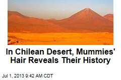 In Chilean Desert, Mummies' Hair Reveals Their History