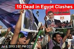 3 Shot Dead at Egypt's Pro-Morsi Rally