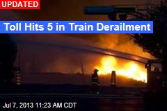 Toll Hits 3 in Train Derailment