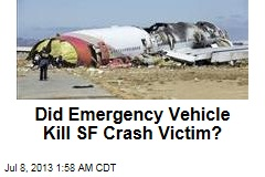 Did Emergency Vehicle Kill SF Crash Victim?
