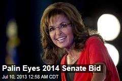 Palin Eyes 2014 Senate Bid