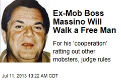 Ex-Mob Boss Massino Will Walk a Free Man