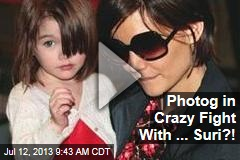 Photog in Crazy Fight With ... Suri?!
