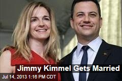 Jimmy Kimmel Gets Married