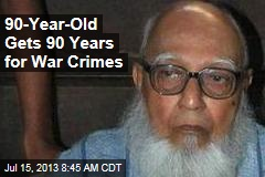 90-Year-Old Gets 90 Years for War Crimes