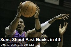 Suns Shoot Past Bucks in 4th