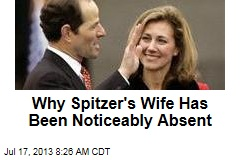 Why Spitzer's Wife Has Been Noticeably Absent