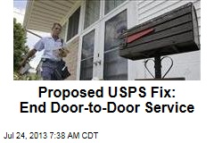 Proposed USPS Fix: End Door-to-Door Service