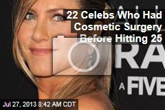 22 Celebs Who Had Cosmetic Surgery Before Hitting 25
