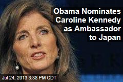 Caroline Kennedy Next Ambassador to Japan: Reports