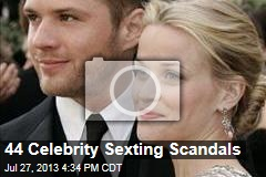 44 Celebrity Sexting Scandals
