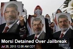 Morsi Detained Over Hamas Ties
