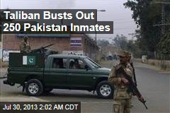 Pakistan Taliban Busts Out 250 Inmates