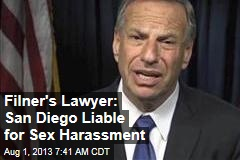 Filner's Lawyer: San Diego Liable for Sex Harassment