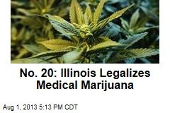 No. 20: Illinois Legalizes Medical Marijuana