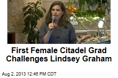 Lindsey Graham Draws Challenge From First Female Citadel Grad