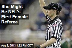 She Might Be NFL's First Female Referee