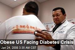 Obese US Facing Diabetes Crisis