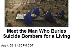 Meet the Man Who Buries Suicide Bombers for a Living