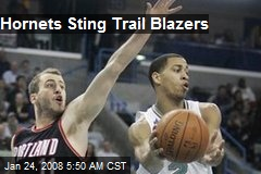 Hornets Sting Trail Blazers