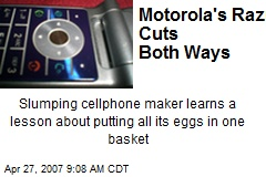 Motorola's Razr Cuts Both Ways