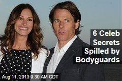11 Celeb Secrets Spilled by Bodyguards