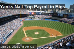 Yanks Nail Top Payroll in Bigs