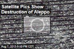 Satellite Pics Show Destruction of Aleppo