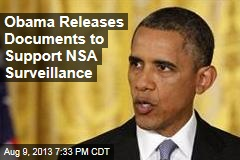 Obama Releases Documents to Support NSA Surveillance