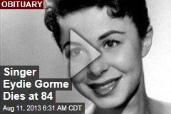 Singer Eydie Gorme Dies at 84