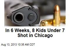 In 6 Weeks, 8 Kids Under 7 Shot in Chicago