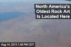 North America's Oldest Rock Art Is Located Here