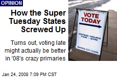 How the Super Tuesday States Screwed Up