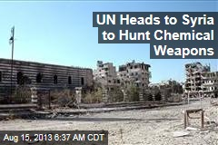UN: Chemical Weapons Probe Headed to Syria