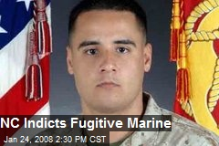 NC Indicts Fugitive Marine