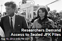 Researchers Demand Access to Sealed JFK Files