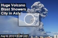 Huge Volcano Blast Showers Japan City in Ash