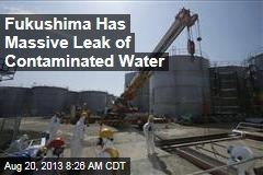 Fukushima Has Massive Leak of Contaminated Water