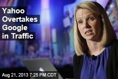 Yahoo Overtakes Google in Traffic