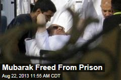 Mubarak Freed From Prison