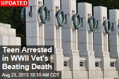 Teens Beat WWII Vet to Death