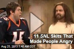 11 SNL Skits That Made People Angry