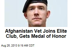 Afghanistan Vet Joins Elite Club, Wins Medal of Honor