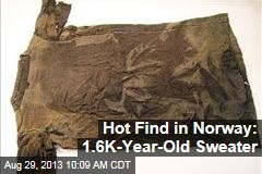 Hot Find in Norway: 1.6K-Year-Old Sweater
