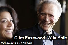 Clint Eastwood, Wife Split