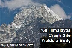 '68 Himalayas Crash Site Yields a Body