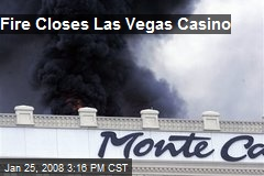 Fire Closes Las Vegas Casino
