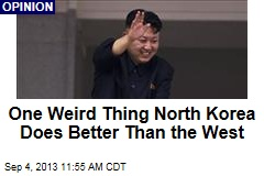 One Weird Thing North Korea Does Better Than the West